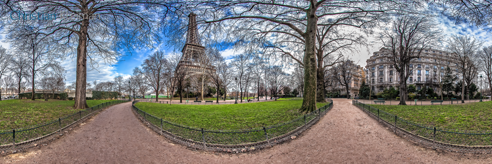 Paris Virtual Tour - 360 Degrees Spherical Panoramic Photography by Freelance Photographer © Christian Kleiman - www.parisvirtualtour.com