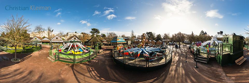 Amusement ride village jardin d 39 acclimatation 360 vr for Bois de boulogne jardin d acclimatation