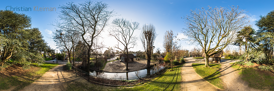Small Farm at Le Jardin d'Acclimatation - Bois de Boulogne - Creative 360 VR Pano Photo - Emblematic places in Paris, France by © Christian Kleiman