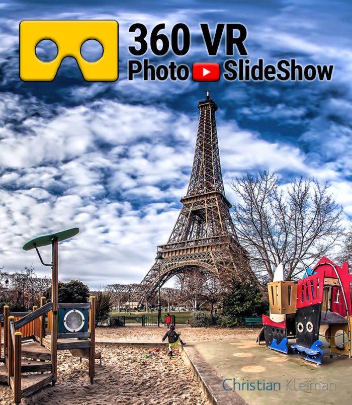 360 VR Video Experience from Champ de Mars, Paris