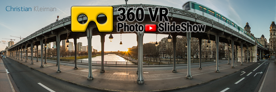 360 VR Video Experience from Seine River Banks, Paris