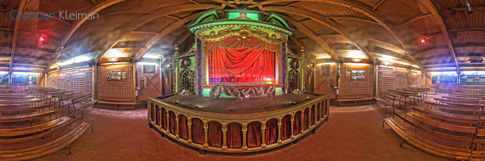 Puppets Theatre - Winter at Champ de Mars Garden - Paris VR - Creative 360 Spherical Panoramic Photography from places in Paris by © Christian Kleiman